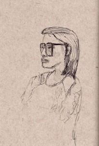 Paola Curcio-Rizzato, ballpoint pen