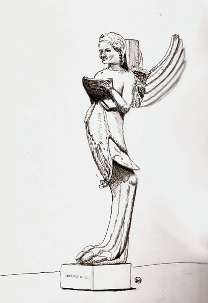 Pilot Prera, Lexington Gray ink, Stillman & Birn Alpha sketchbook