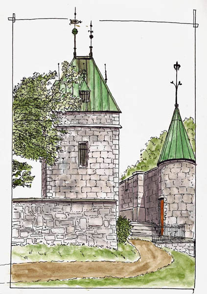 St. Louis Gatehouse - Quebec City