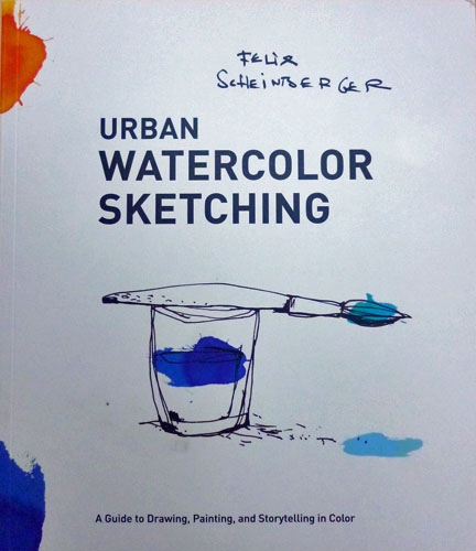 Urban Watercolor Sketching cover