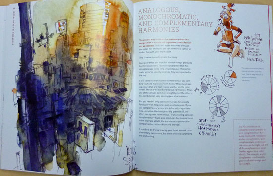 Urban Watercolor Sketching pages3