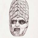 Greek plaster mask (200AD)