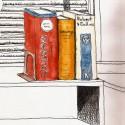 Stillman & Birn Alpha (9x12), Namiki Falcon, De Atramentis Docu Black ink