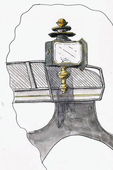 Stillman & Birn Alpha, Namiki Falcon, De Atramentis Document Black