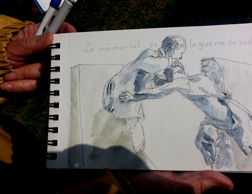 Fernande's sketch