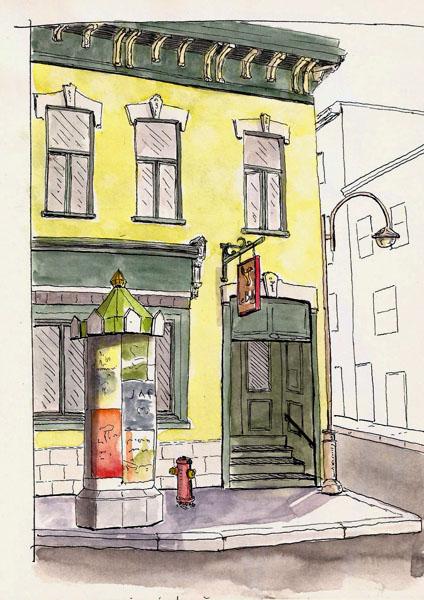 Quebec City: Rue St Jean - Billig's