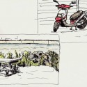 lne-line sketching in Quebec City