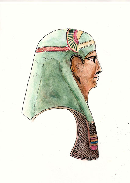 Pharoah mask, Egypt
