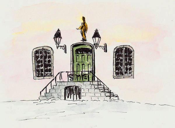 Seminary entrance