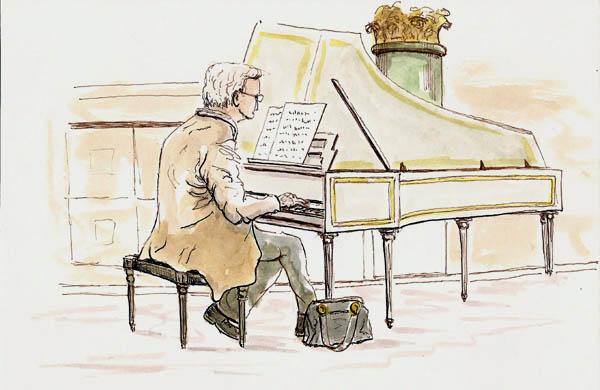 chapel harpsichord