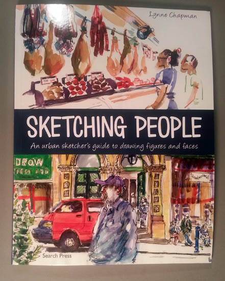 Review Sketching People By Lynne Chapman